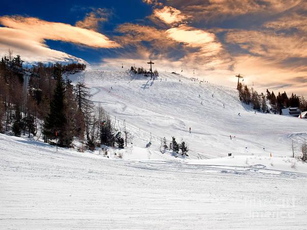 Ropeway Photograph - Ski Resort by Sinisa Botas
