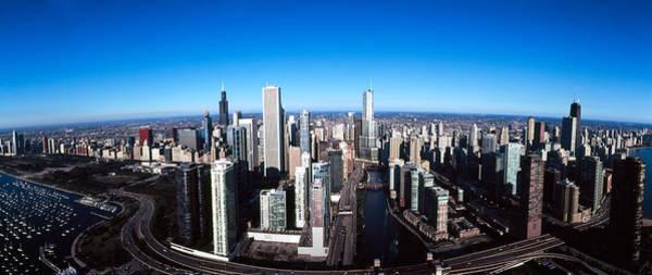 Skyscrapers In A City, Trump Tower Art Print