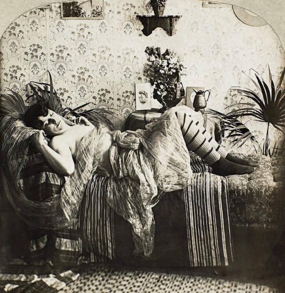 Photograph - Sleeping Woman, C1900 by Granger