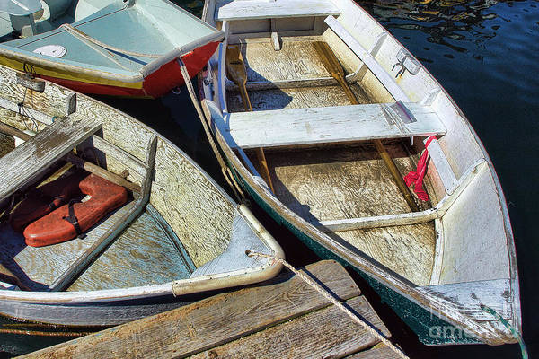 Photograph - Small Boats by Olivier Le Queinec