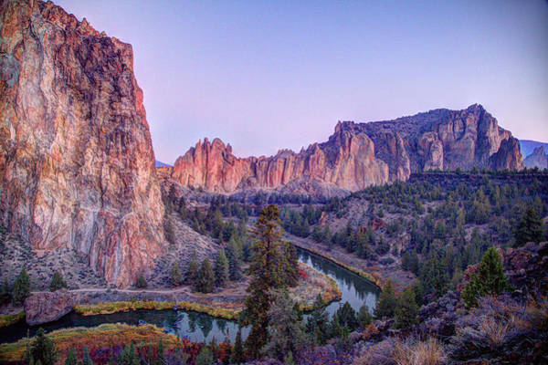 The Past Photograph - Smith Rock, Oregon by Image By Nonac digi For The Green Man