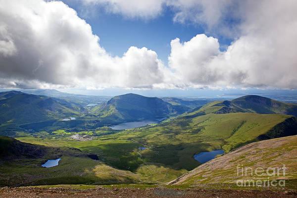 Moorland Photograph - Snowdonia by Jane Rix