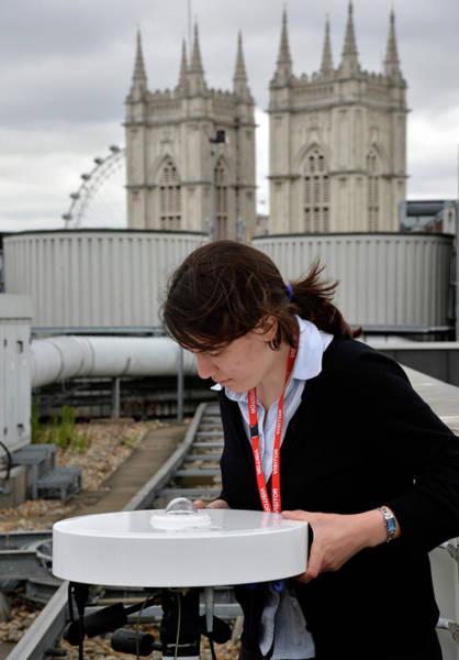 Public Health Photograph - Solar Radiation Monitoring by Public Health England