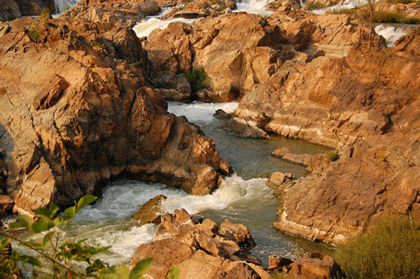 Photograph - Somphamit Falls, Si Phan Don, Laos by Photography By Angelica Andrea Cruz