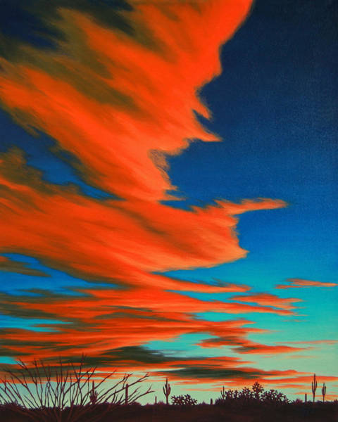 Painting - Sonoran Sky by Cheryl Fecht