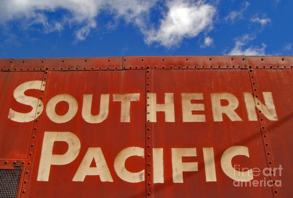 Photograph - Southern Pacific by Gregory Dyer