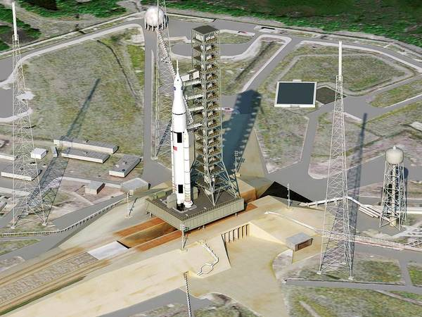 Center Stage Photograph - Space Launch System by Nasa