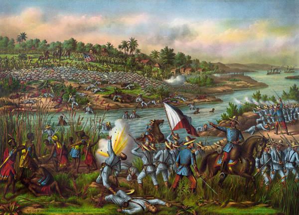 Wall Art - Painting - Spanish-american War, 1899 by Granger