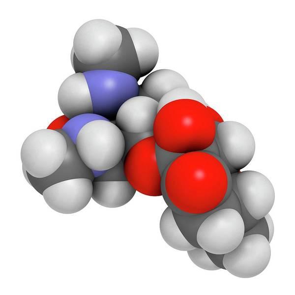 Infection Wall Art - Photograph - Spectinomycin Gonorrhoea Drug Molecule by Molekuul