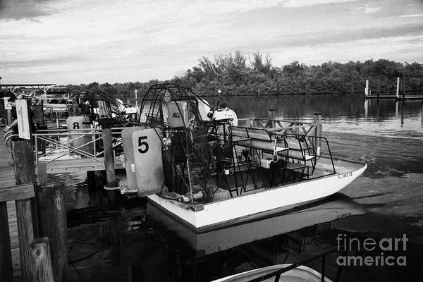 Airboat Photograph - Speedys Airboat Rides In Everglades City Florida Everglades Usa by Joe Fox