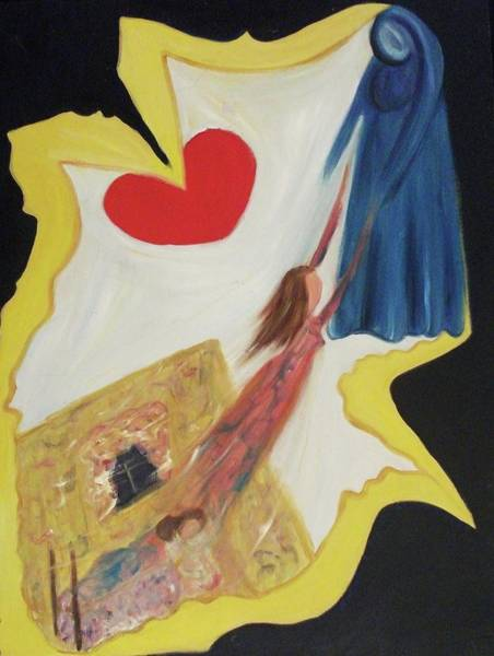 Leclair Painting - Spiritual Experience by Suzanne  Marie Leclair