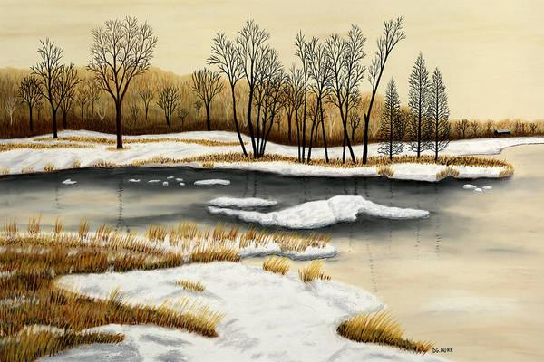 Pastel - Spring Break Up II by George Burr