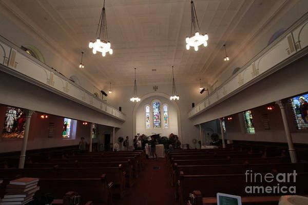 Photograph - St John's Evangelical Lutheran Church by Steven Spak