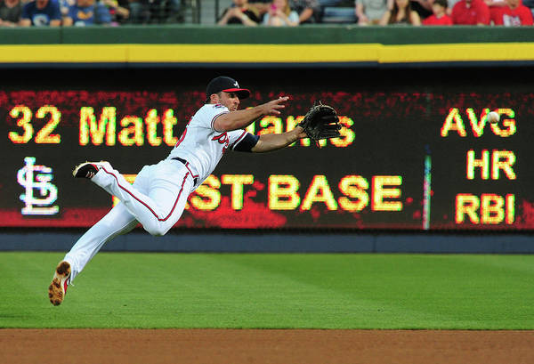 Turner Field Photograph - St. Louis Cardinals V Atlanta Braves by Scott Cunningham