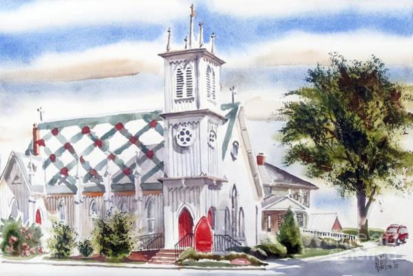 Painting - St Pauls Episcopal Church  by Kip DeVore