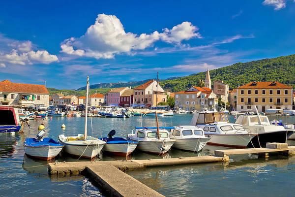 Starigrad Photograph - Stari Grad On Hvar Island by Brch Photography