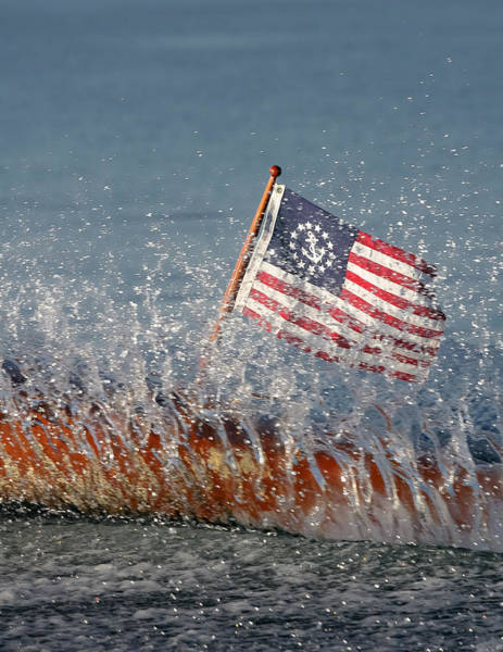 Photograph - Stars And Stripes by Steven Lapkin