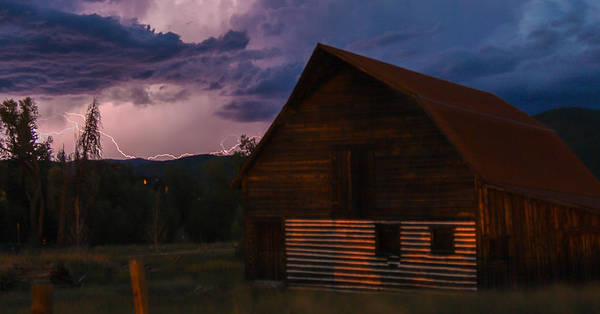 Photograph - Steamboat Barn by Kevin  Dietrich