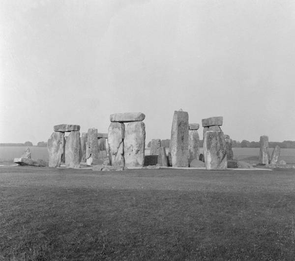 World Heritage Site Photograph - Stonehenge by Anonymous