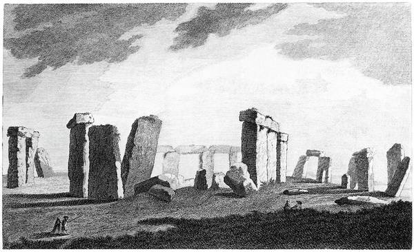 Front Page Photograph - Stonehenge by Royal Astronomical Society/science Photo Library