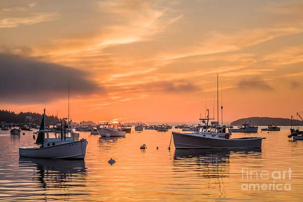 Photograph - Stonington Sunrise by Susan Cole Kelly
