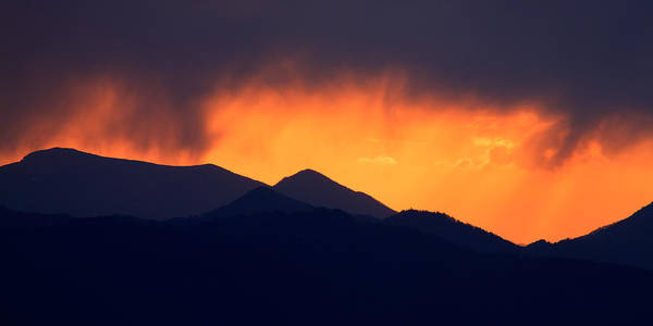 Wall Art - Photograph - Stormy Sunset by Ian Middleton