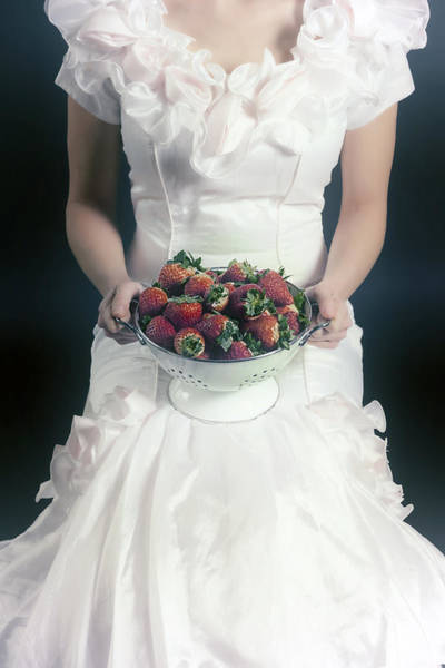 Offering Photograph - Strawberries by Joana Kruse