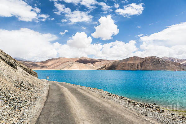 Photograph - Stunning Pangong Lake In Ladakh by Didier Marti