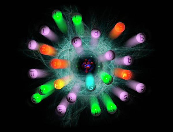 Subatomic Particle Photograph - Subatomic Particles  by Carol & Mike Werner