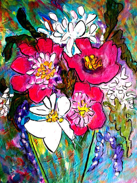 Painting - Summer Blooms by Nikki Dalton
