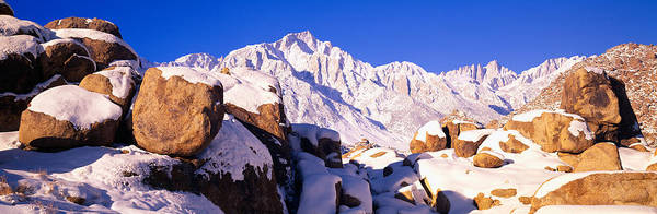 Escarpment Photograph - Sunrise At 14,494 Feet, Mount Whitney by Panoramic Images