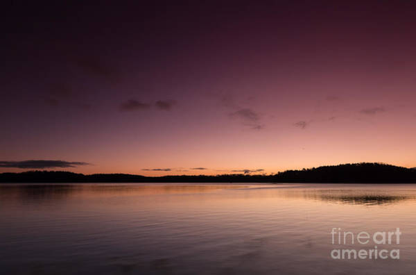 Photograph - Sunrise On Lake Lanier by Bernd Laeschke
