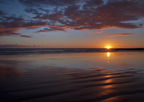 Photograph - Sunset At Porthcawl by Pete Hemington