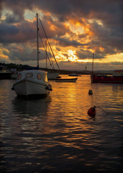 Photograph - Sunset At Teignmouth by Pete Hemington