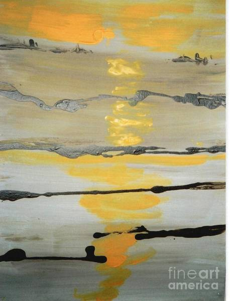 Wall Art - Painting - Sunset by Fereshteh Stoecklein