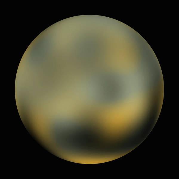 Wall Art - Photograph - Surface Of Pluto by Nasa/esa/sri (m. Buie)/science Photo Library