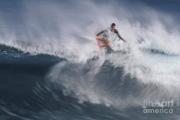 Photograph - Surfing by Ron Sanford