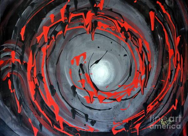 Swirling Around Art Print