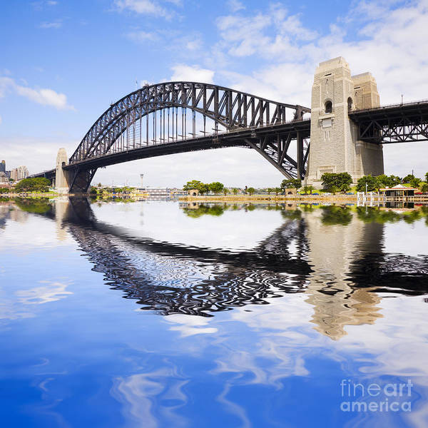 Wall Art - Photograph - Sydney Harbour Bridge by Colin and Linda McKie