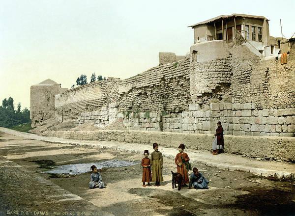 Damascus Photograph - Syria Damascus, C1895 by Granger