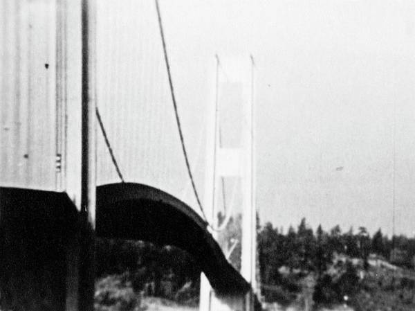 Frederick County Wall Art - Photograph - Tacoma Narrows Bridge Collapse by Library Of Congress/science Photo Library