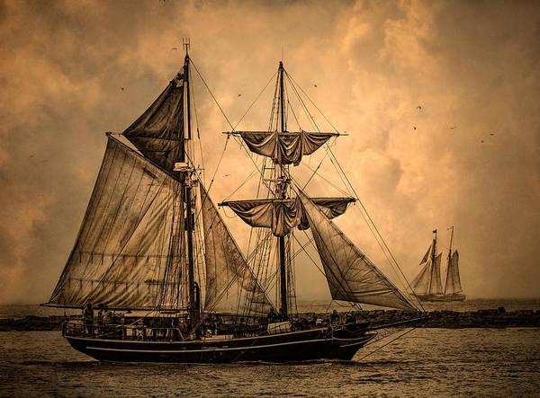 Wall Art - Photograph - Tall Ships by Dale Kincaid