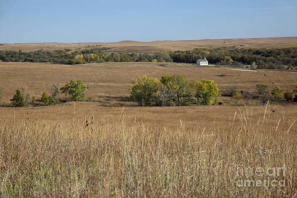 Photograph - Tallgrass Prairie National Preserve by Jim West