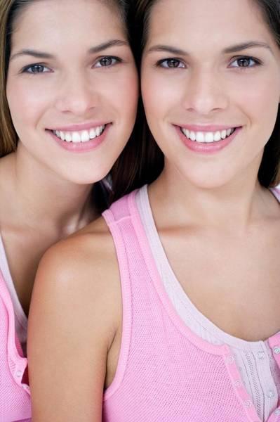 Similar Photograph - Teenage Twin Sisters by Ian Hooton/science Photo Library