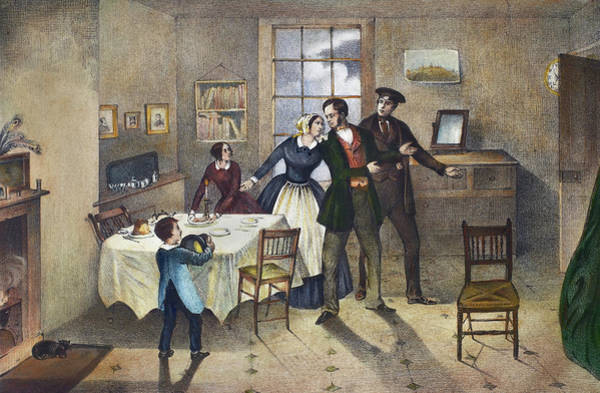 Alcoholism Painting - Temperance Movement, C1840 by Granger