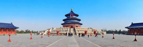 Wall Art - Photograph - Temple Of Heaven by Songquan Deng