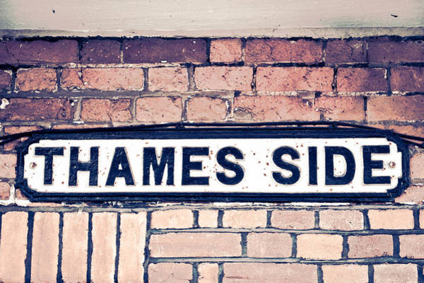 Old Wall Art - Photograph - Thames Side by Tom Gowanlock