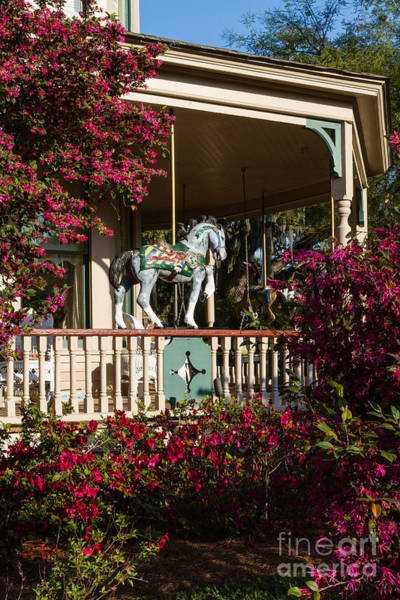 Bailey's Beach Photograph - The Bailey House Circa 1895 Fernandina Beach Florida by Dawna Moore Photography