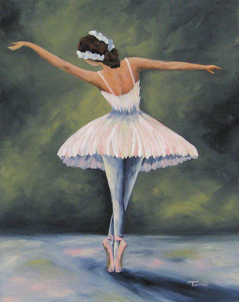 The Ballerina Iv Art Print