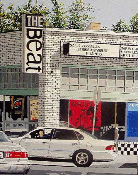 The Beat In Midtown Art Print by Paul Guyer